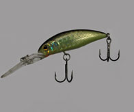"Воблер ""Takai""   Minnow  F9055-B27   4.5mm-4.5g (0-1m)"